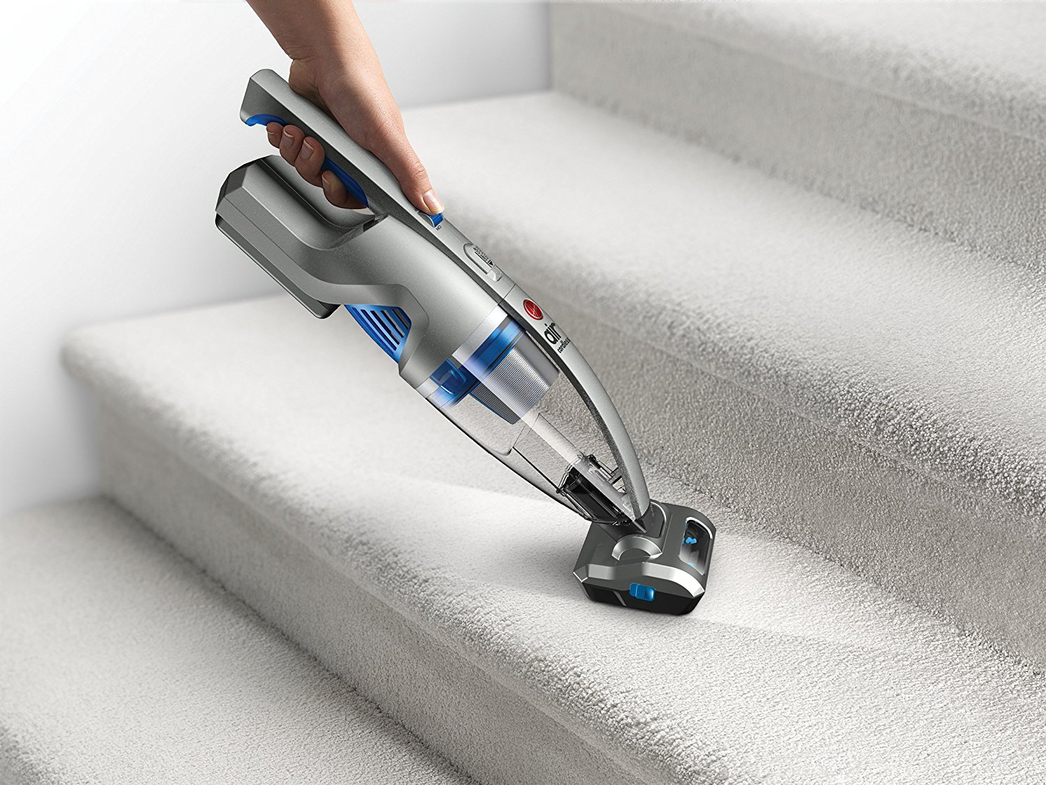 Carpeted Stair Cleaning